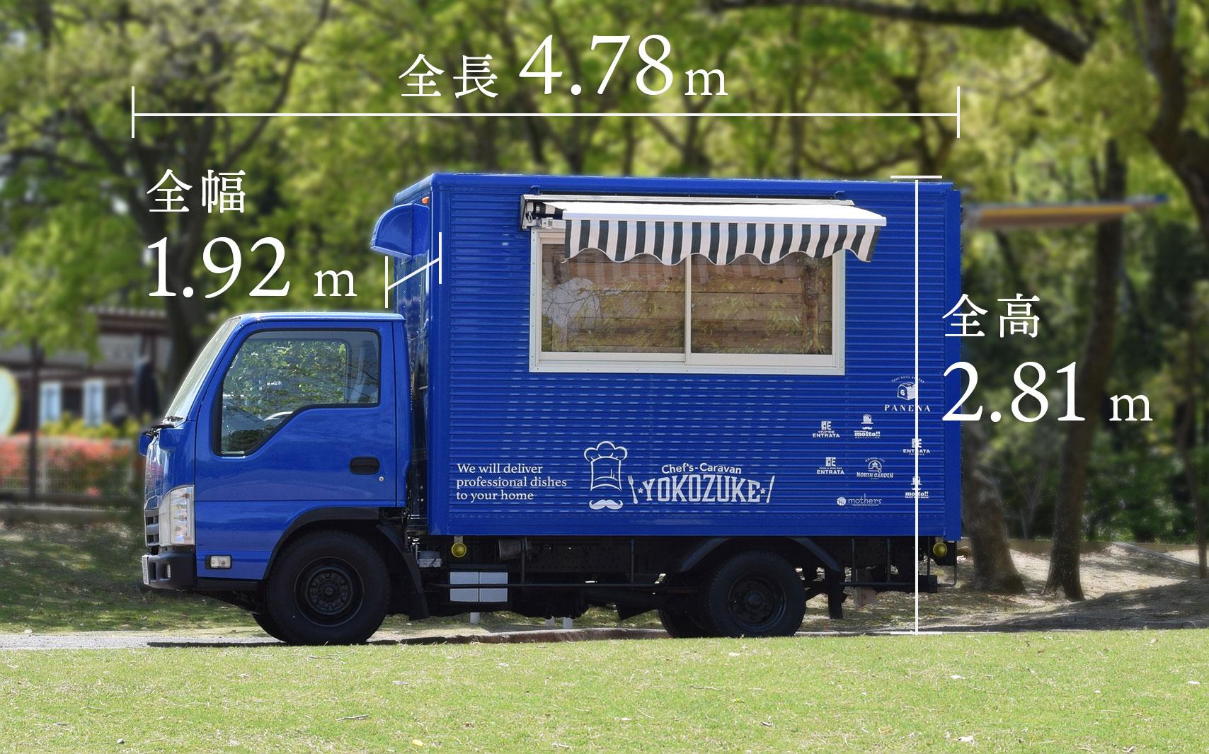 キッチンカーのサイズ02
